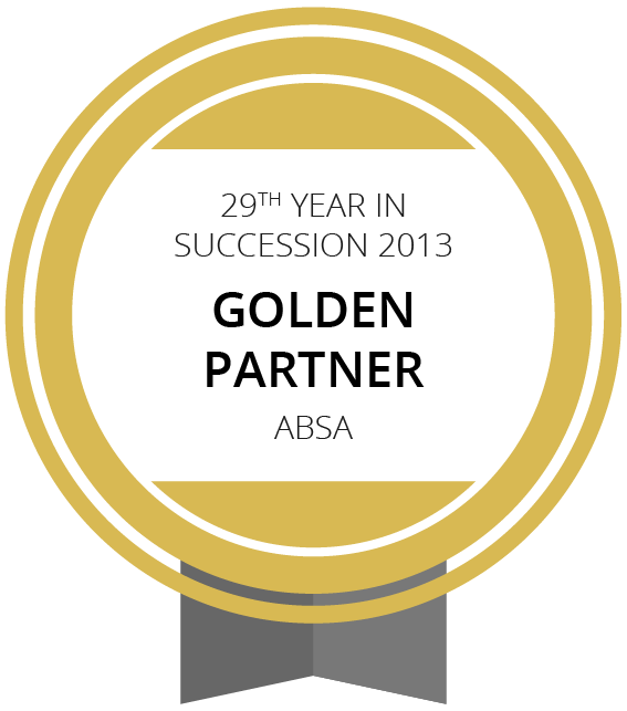 ABSA Golden Partner for the 29th Year in Succession 2013